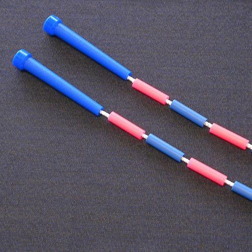 Beaded Rope 14 feet zweifarbig